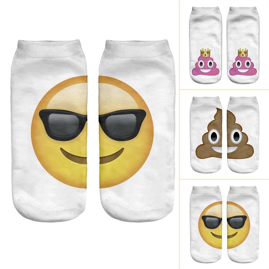 Socks Man Calcetines Mujer Socks Man Cotton Breathable Tie Dye Compression Character  Socks Expression Short Hosier T429