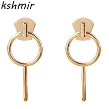 2018 fashion exquisite eardrop euramerican zinc alloy earrings lady wholesale