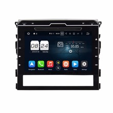 Octa Core 9″ Android 6.0 Car Radio DVD GPS for Toyota Land Cruiser 2016 2017 With 2GB RAM Bluetooth 32GB ROM USB Mirror-link
