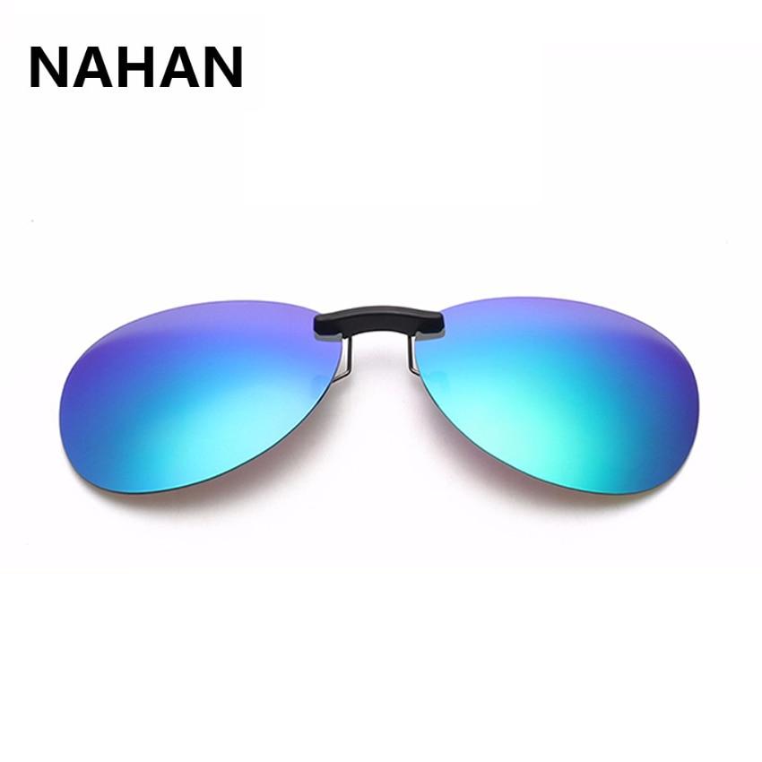 de1ee8451ac47 Clipe de óculos de sol Mulheres Polarizada Clip sobre óculos de Lente  Anti-Reflexo Óculos de Sol UV400 Óculos de Condução Das Mulheres Dos Homens  clipe