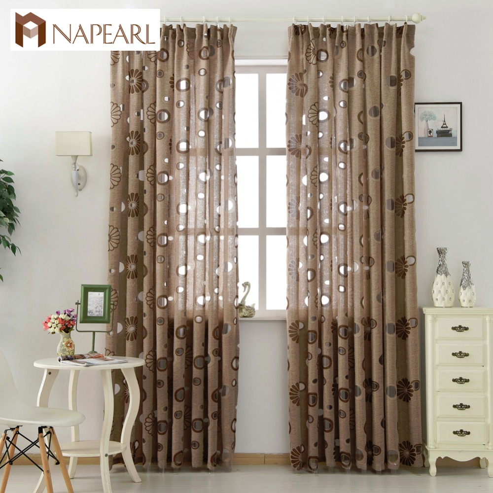 Floral Modern Curtain Home Decoration Living Room Curtains