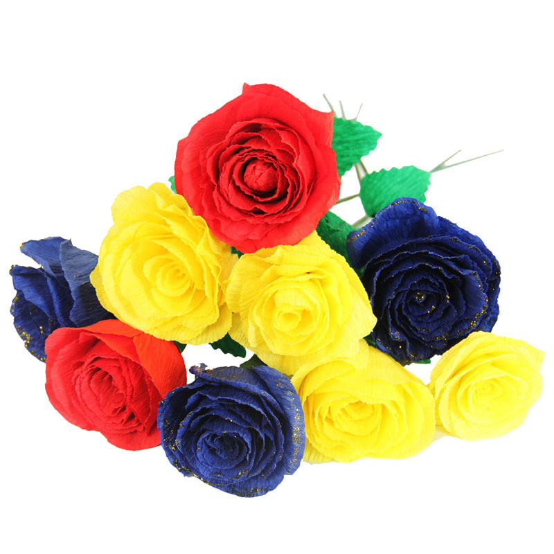 1roll colored handwork crepe paper wedding birthday party decoration 1roll colored handwork crepe paper wedding birthday party decoration crinkled paper flower diy craft material supplies 50x250cm in party diy decorations mightylinksfo