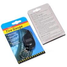 Мини-брелок портативный цифровой ЖК-дисплей 2-150 фунтов/кв. дюйм датчик давления воздуха в шинах Колеса Тестер инструмент для измерения давления в шинах
