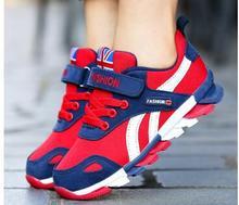 Venda quente Nova Marca Crianças Calçados Meninos Calçados Esportivos Casuais Ao Ar Livre Respirável Crianças Meninas Sapatilhas Tênis