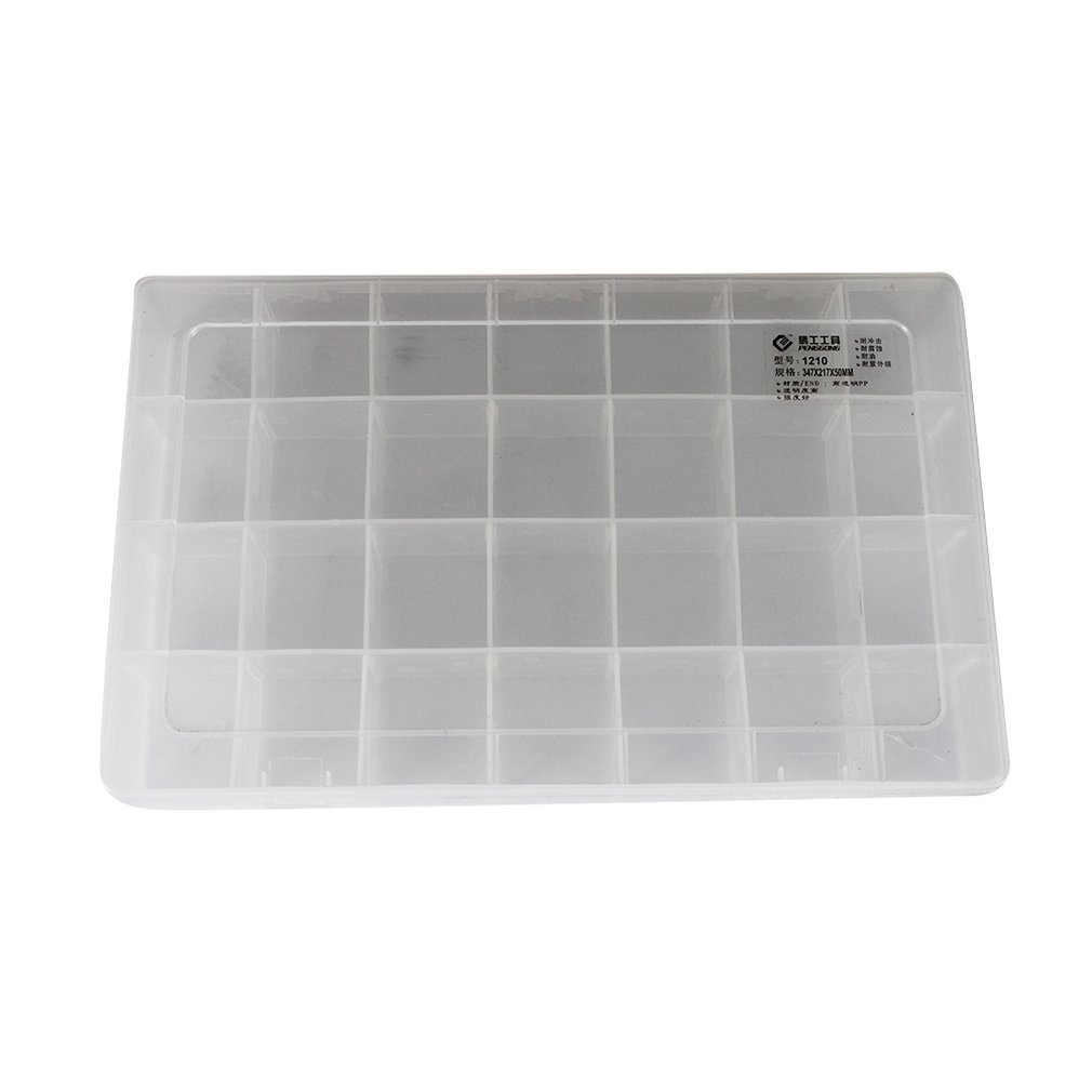 1210 Plastic Tool Box Transparent Toolbox Electronic Components Screw Storage Box Electronic Plastic Parts Tool Boxes Drop Ship