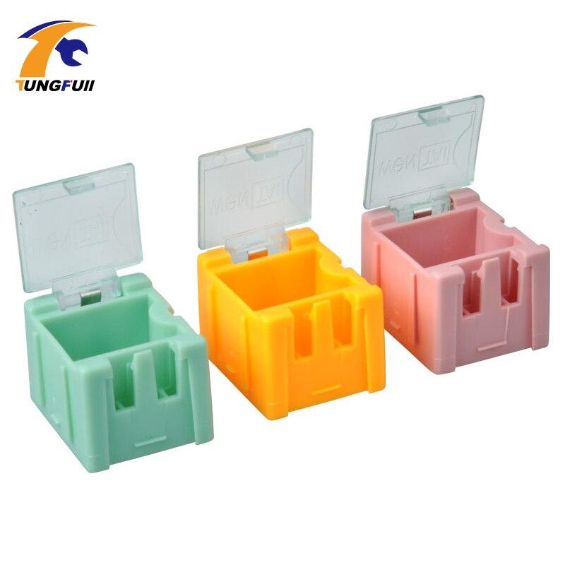 rychlá dodávka 50ks SMD SMT komponenty skladovací krabice - Sady nástrojů - Fotografie 4