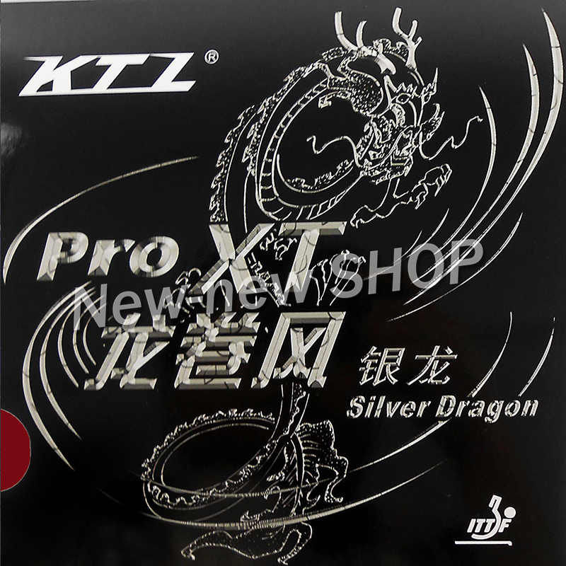 KTL Pro XT Silver Dragon Pips-In Table Tennis (PingPong) Rubber With Sponge