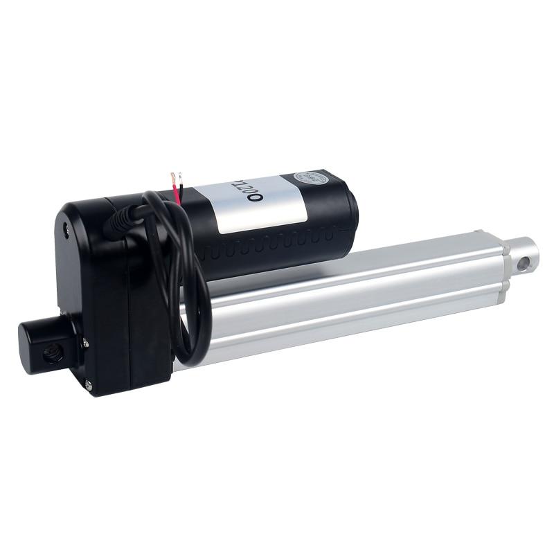 2500N elektrische lineaire actuator DC motor 900mm 1000mm 2000mm 3000mm remote lift actuator DC24V power saving geruisloze putter - 2
