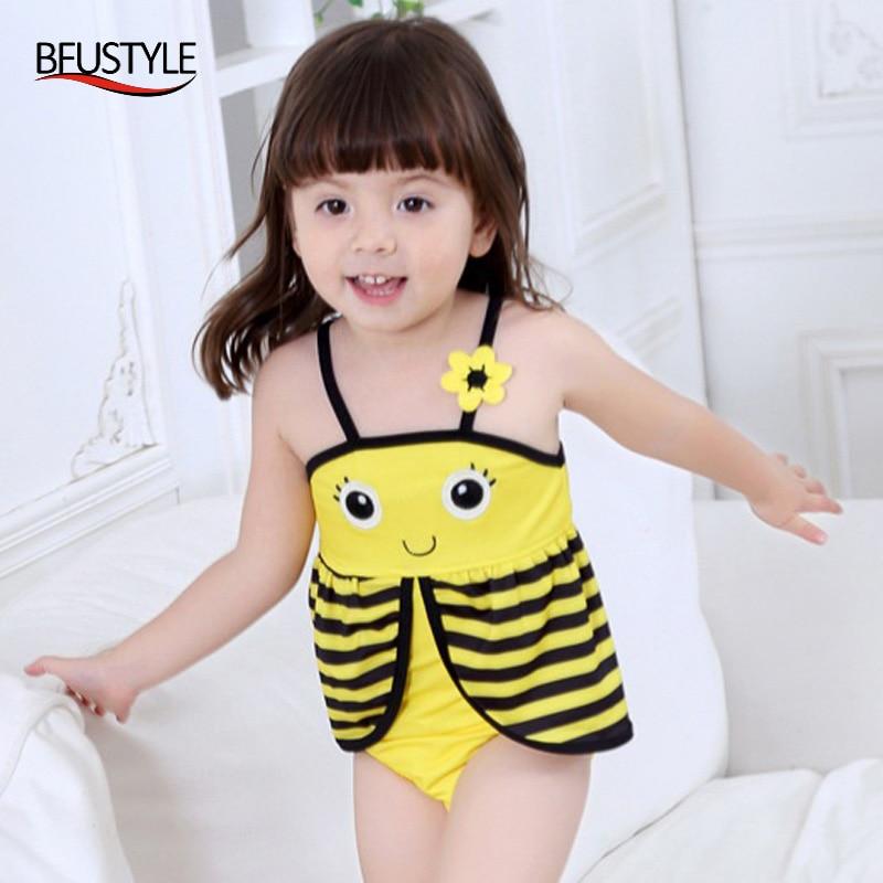 BFUSTYLE 2019 cvijeće kupaći kostimi djevojke jedan komad kupaćih - Sportska odjeća i pribor