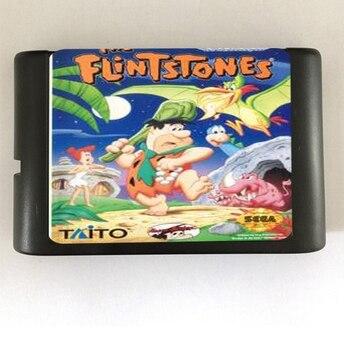 The Flintstones - 16 bit MD Games Cartridge For MegaDrive Genesis console
