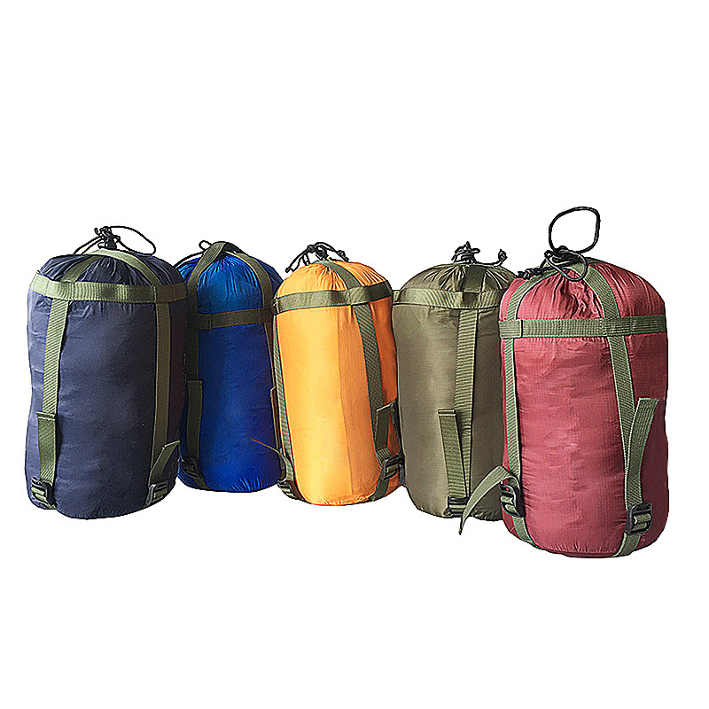 Outdoor Sleeping Bag Compression Sack Various Garments Drawstring Storage Pouch Camping Equipment
