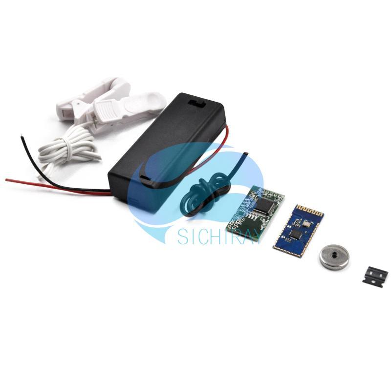 Купить с кэшбэком TGAM Starter Kit Brainwave Sensor EEG Sensor Brain Control Toys for Arduino or Neurosky App Development With TGAT1 Providing SDK
