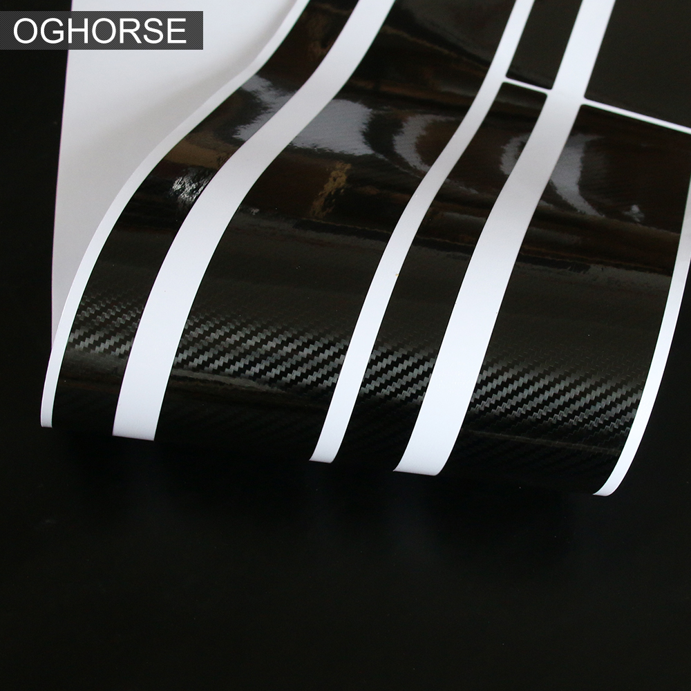 Car Hood Stripes Trunk Bonnet Rear Body Kit Door Side Stripe Skirt Sticker For Mini Cooper Countryman F60 Accessories in Car Stickers from Automobiles Motorcycles