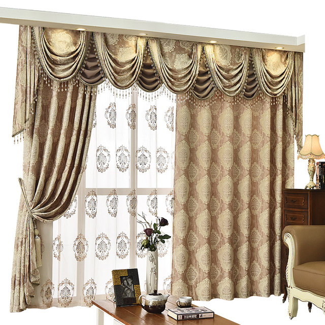 org red drapes curtains style klikit bed room new embroidery living luxury curtain for