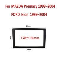 Car Refitting Radio Stereo DVD Frame Fascia Dash Panel Installation Kits For MAZDA Premacy 1999 2004