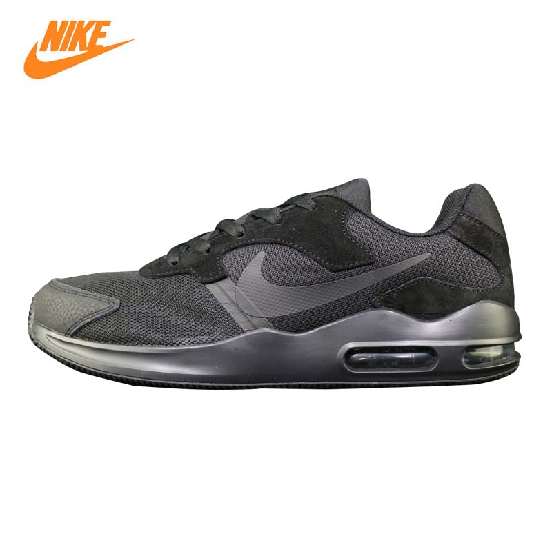 NIKE AIR MAX GUILE Men's Running Shoes, Black, Shock Absorption Breathable Lightweight Non-slip Wear-resistant 916768 003 цена