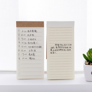 DL Korean creative stationery can tear practical notepaper, notebook, small book TODO notes student supplies convenient sticker image
