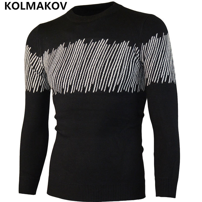 2018 Fashion Mens sweater Men Hombre Casual Mens Autumn Winter Wool Knitted Sweaters Men ...