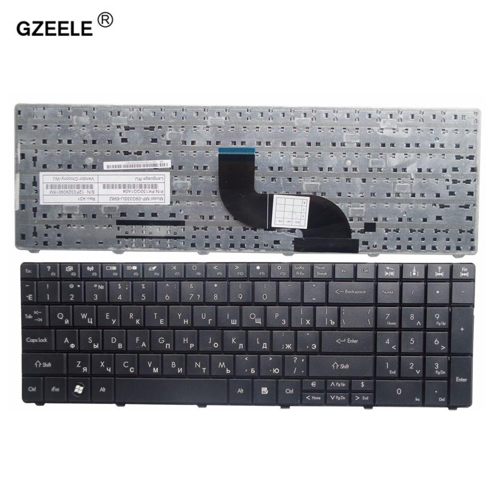 GZEELE Neue russische laptop-tastatur für Acer Aspire E1-571G E1-531G E1 521 531 571 E1-521 E1-571 E1-521G Schwarz RU tastatur