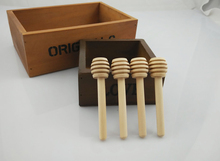8cm MINI Wooden Honey Dippers Wedding Favors Welcome customize