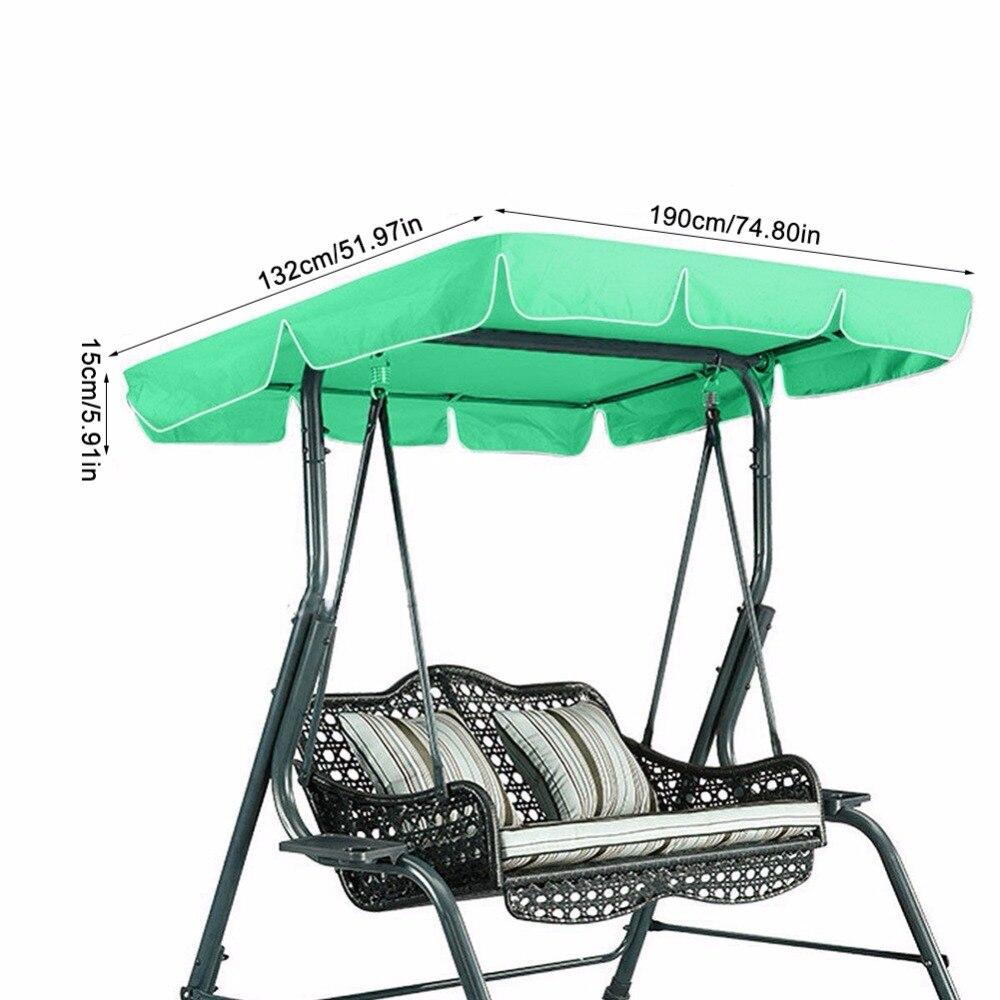 Swing Seat Cover Anti Uv Garden
