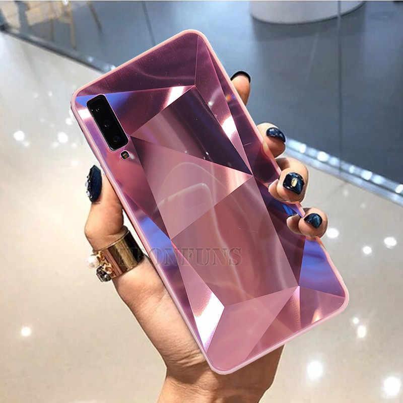 3D Diamant Glitter Fall Für Samsung Galaxy J4 J6 Plus J8 2017 J415 J2 J3 J5 J7 Neo Core Prime 2 2016 2017 fall Soft Cover Capa