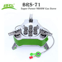 BRS 71 Super Power 9800W Gas Stove Folding for Picnic Camping Hiking Outdoor Cookware Butane LPG Propane Furnace Portable