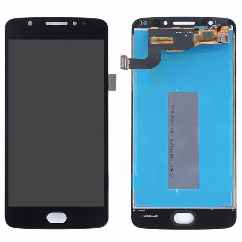 For Motorola Moto E4 XT1766 XT1763 <font><b>XT1762</b></font> XT1772 <font><b>Lcd</b></font> touch screen Digitizer Sensor Assembly Free Tools 5inch image
