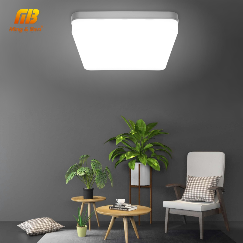 Led Panel Lamp Round Ceiling Down Light AC85-265V Modern Surface Mounted Light 48W 36W 24W 18W 13W 9W 6W Recessed Lighting Lamps
