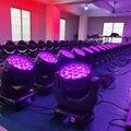 Беспошлинный 8 шт./лот светодиодный zoom 19x15 Вт моющийся светильник с подвижной головкой Новый zoom wash движущийся сценический светильник