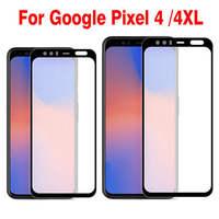 2PCS Della Copertura Completa di Vetro Temperato Per Google Pixel 4 Protezione Dello Schermo pellicola protettiva Per Google Pixel 4 XL 4XL