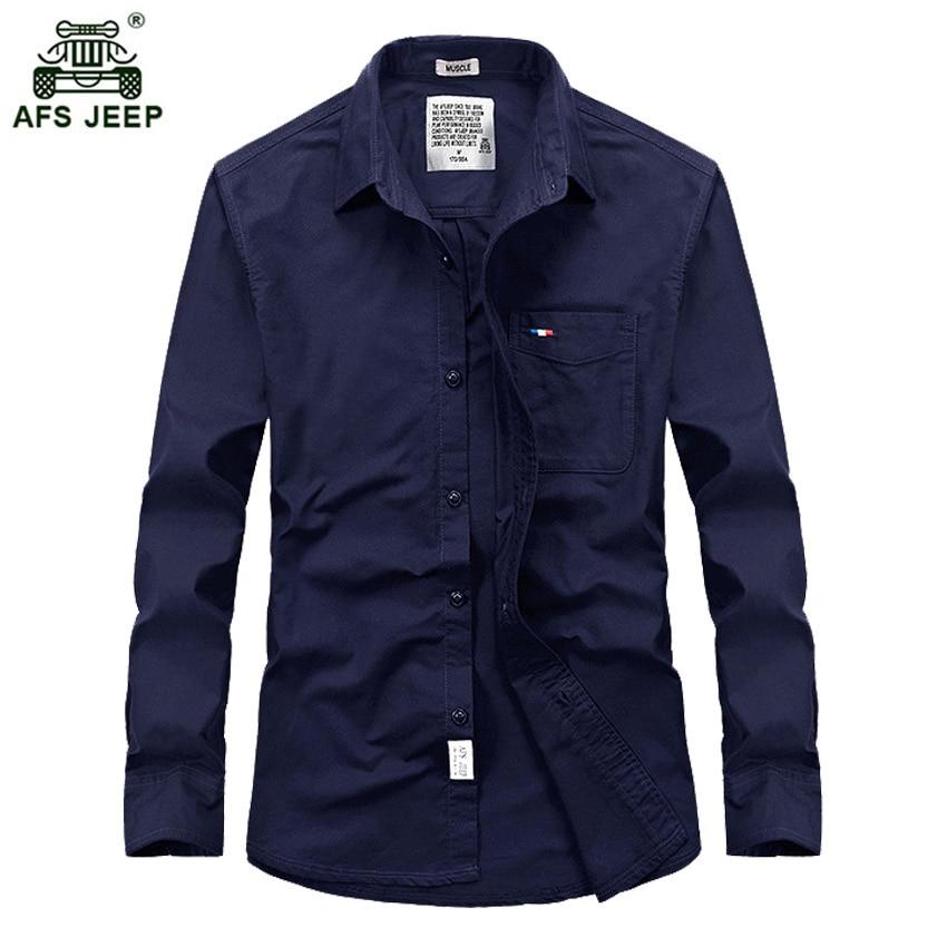 Free shipping 2017 Spring fashion men s casual high quality shirt man  autumn cotton long sleeve shirts 5 color 73hfx 045a5102c