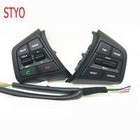 STYO Car Steering Wheel Button Cruise Control Buttons Remote Contro Bluetooth Phone Button For Hyundai ix25 (creta) 1.6L 2017 20