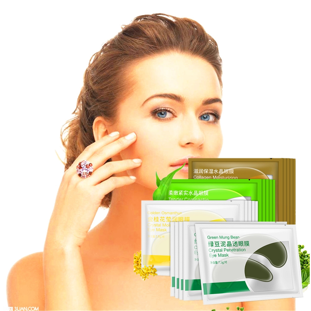 Skin Care Disaar Newly Anti-aging Collagen Eye Mask Black Anti-aging Fine Lines Fruit Moisturizing Essence Eye Patch Dark Circles Beauty & Health