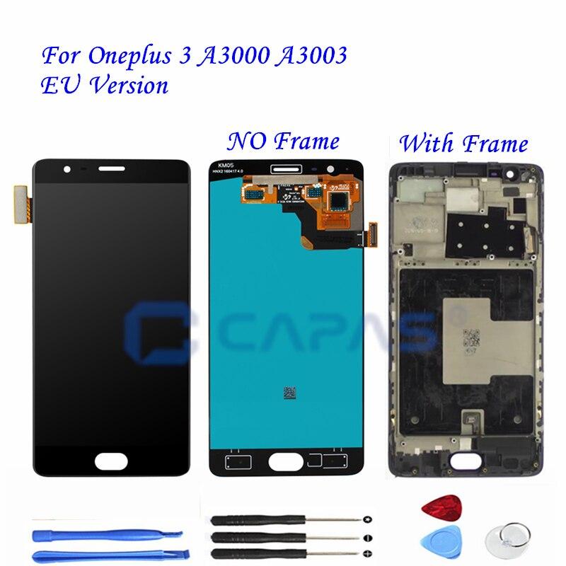 Herramienta de reparaci/ón de bater/ía LCD m/óvil para ONEPLUS 3