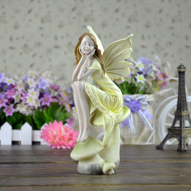 Beautiful Wedding Gifts: Houseware Beautiful Angel Decoration Wedding Gift Resin