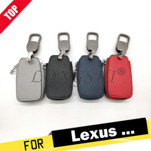 Genuine Leather Car Key Case for Lexus 300 4700/ES200 350/RX200t 300/EX300h/NX200 270/LS/IS 200 300/GS300 400 430 LX Covers Bag