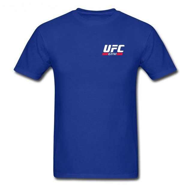 Kaos Pria Fashion Pakaian GYM CLUB Pola Pria Lengan Pendek T-shirt Katun Dicetak T-shirt MMA Pria UFC Tema T-shirt Tee