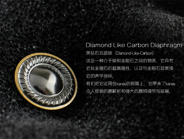 Date Mode Moondrop Kanas Pro Diamant de Zinc Alliage De Magnésium Dynamique HIFI Dans L'oreille Écouteurs HIFI Moniteur Écouteurs EarplugEarbud - 4