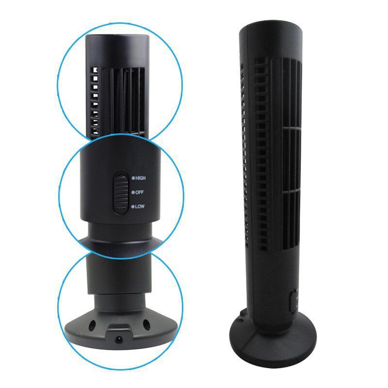 Usb Mini Without Vane Tower Fan Air Conditioning Fan Desktop  Two gears Natural Wind Use For Home Office fxb f3d2x4 enhanced windsock wind vane double frame skeleton