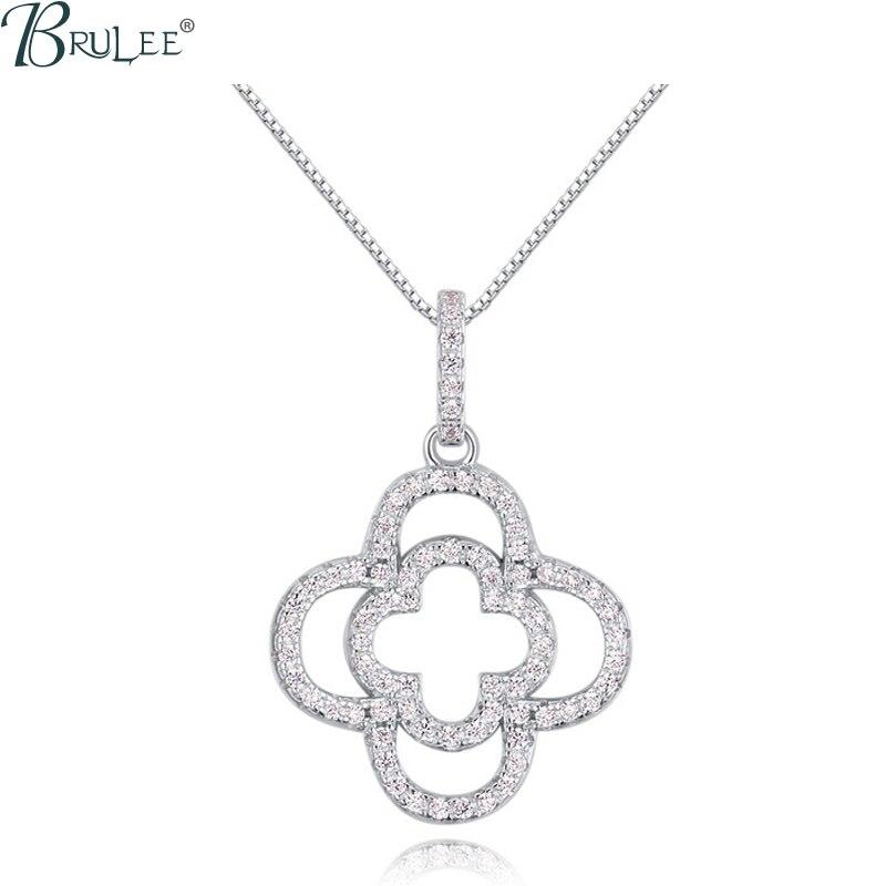 2016 New Fashion luxury S925 Silver font b Necklace b font Swarovski Elements Crystal Flower font