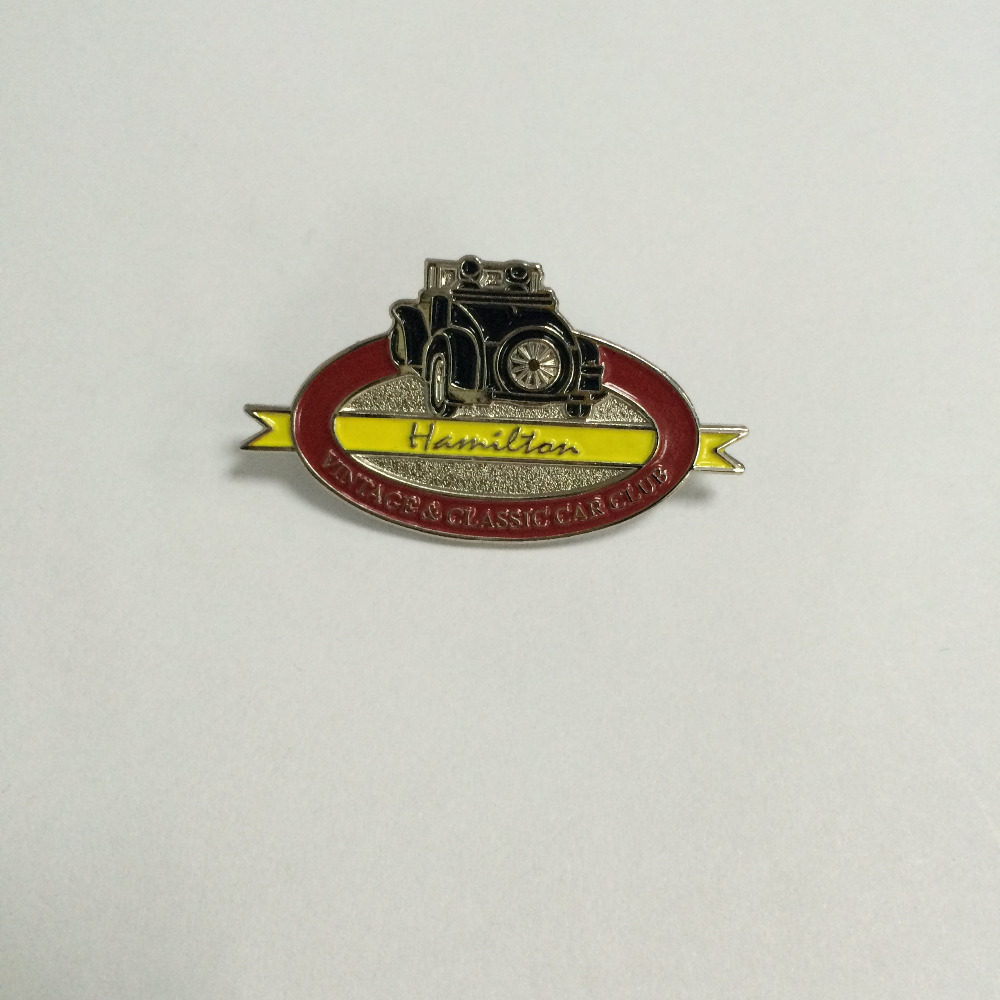 irregular custom lapel pin with a butterfly clutch and soft enamel 200pcs 25mm