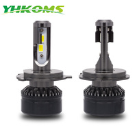 YHKOMS Car Headlight H4 H7 LED 9005 HB3 9006 HB4 H1 H3 H8 H9 H11 Auto