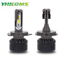 YHKOMS Car Headlight H4 H7 LED 9005 HB3 9006 HB4 H1 H3 H8 H9 H11 Auto