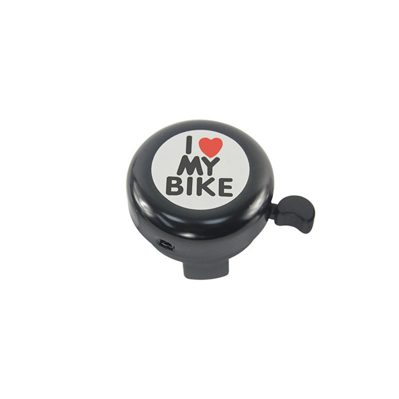Loud Bicycle Bells Funny Metal Bicycle Horn with Love Mountain Bike Bell Handlebar Alarm Horn Ring Cycling Accessories