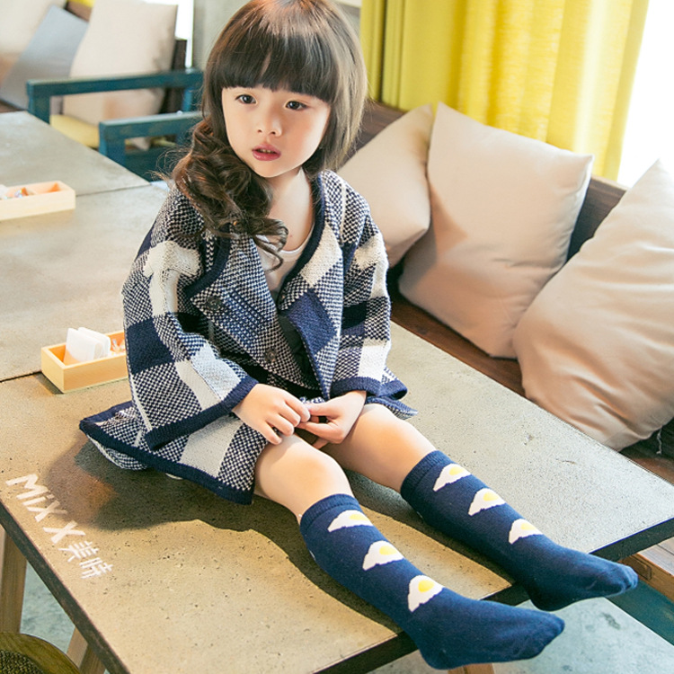 Baby-Socks-Cartoon-High-Knee-Socks-Girls-Children-Cute-Poached-Egg-Boys-Tube-Meias-NewBorn-Long-Socks-Cotton-Leg-Warmer-Brand-2