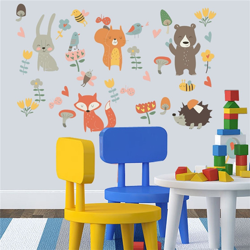 Mobile Creative Wall Stickers Affixed With Decorative Wall Window Decals for Living Room Decoration Art For Kids Rooms@40