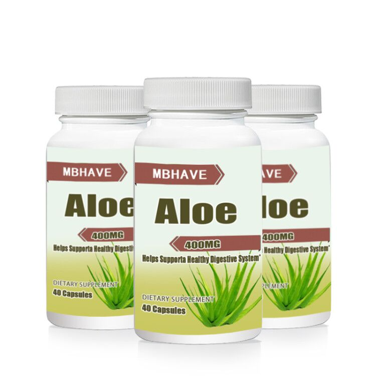 BEST DEAL 2017 NEW total 3 bottles  Aloe 400mg Supports Healing  Free shipping pycnogenol 60 mg supports antioxidant