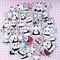 40 шт. Self-made Cue Baby Panda Наклейки Скрапбукинга DIY Craft DIY Стикер Pakc Фотоальбомы Деко Дневник Деко