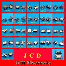 cltgxdd MICRO HDMI HDMI Connector,HDMI Jack,HDMI Socket,19pin SMD,2 fix foot 90 degree DIP 44pcs 22modles